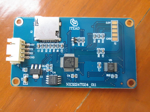 Nextion_2.4_TFT_Display_Board