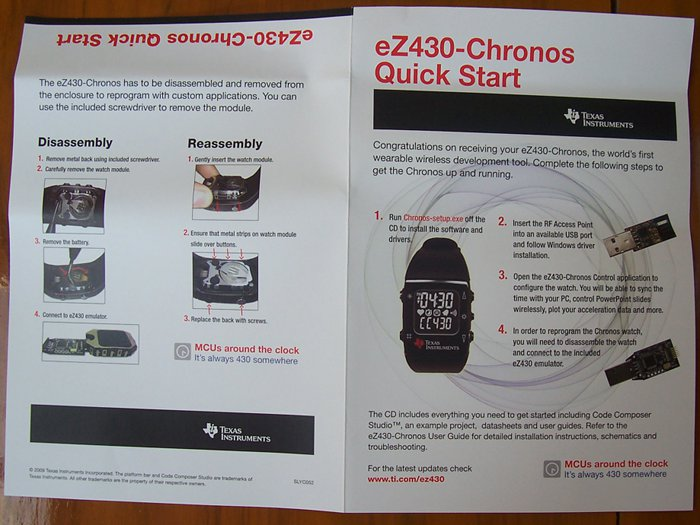 texas_instruments_ez430-chronos_quick_start_guide