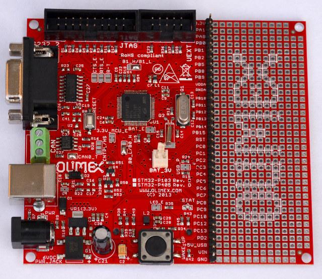 Olimex_STM32_P103_GD32_MCU