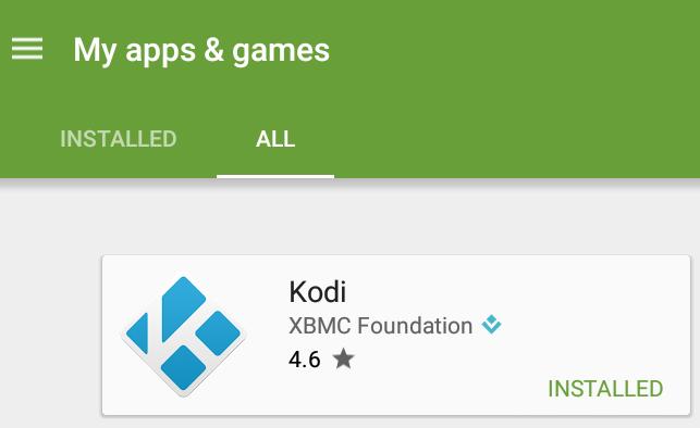 Kodi_Google_Play_Installed