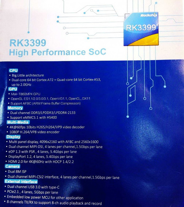 RK3399_specifications
