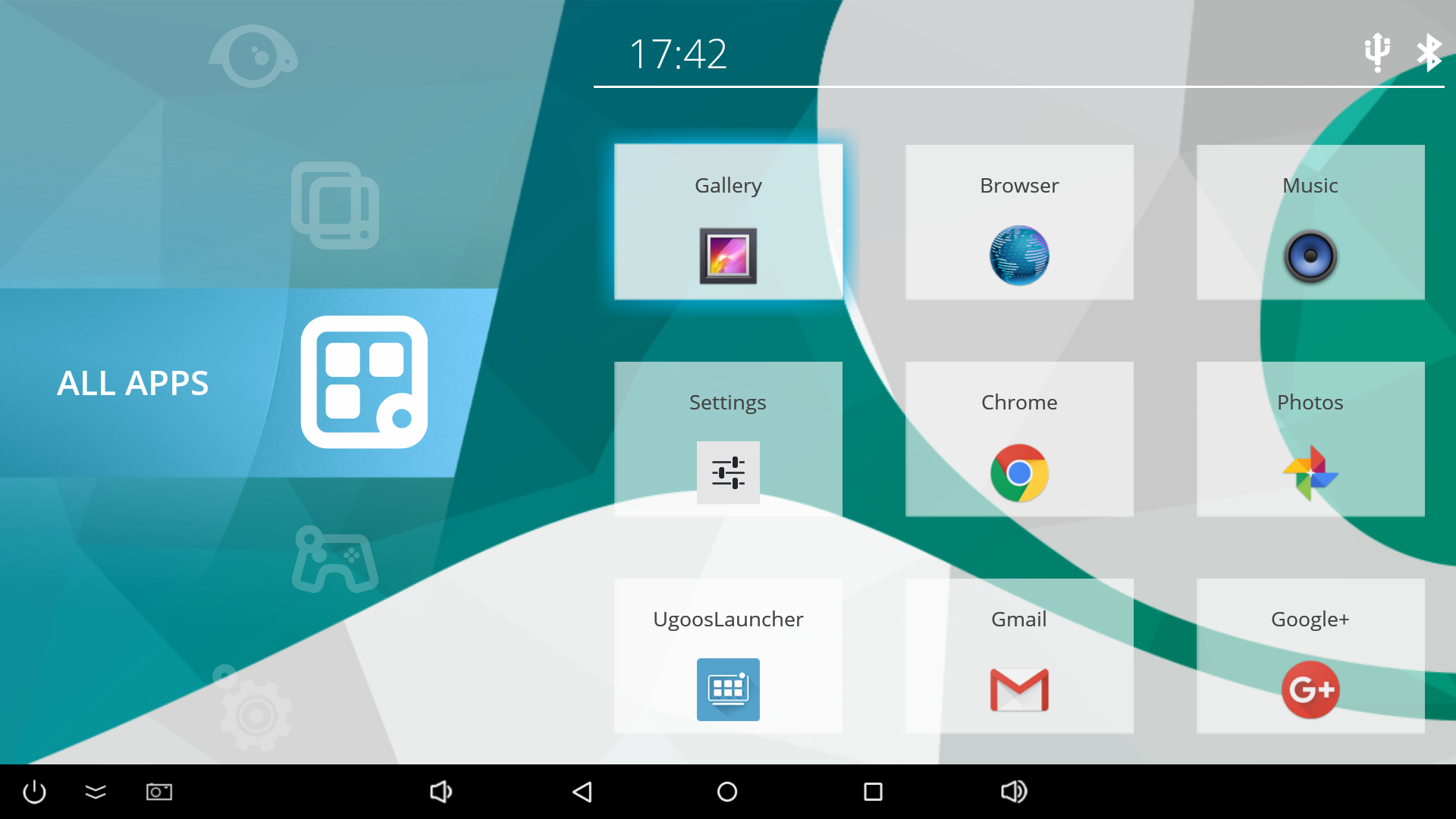Ugoos_Launcher_App_List