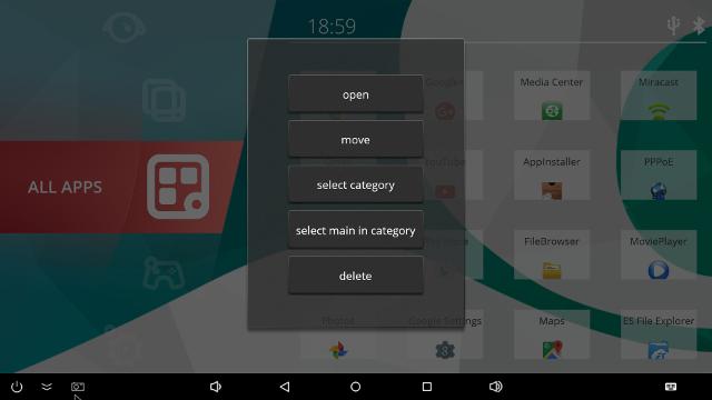Ugoos_Launcher_Change_Category