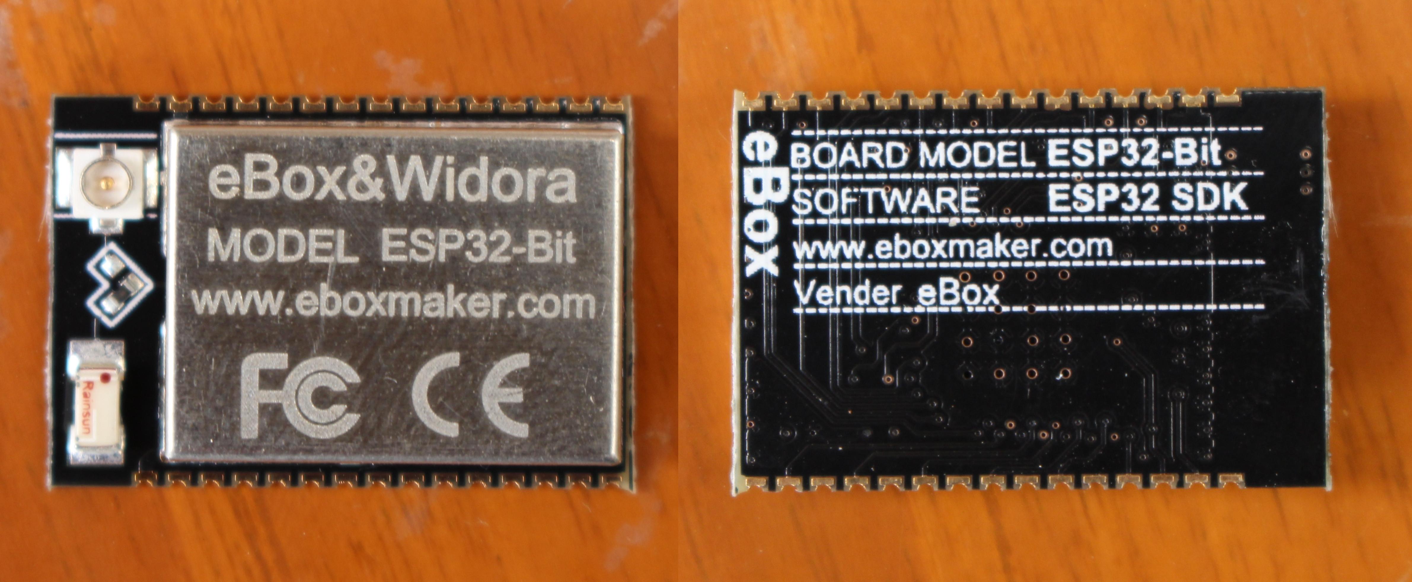 Начало работы с модулем ESP32-Bit и платформой для
