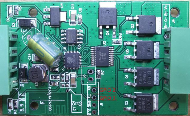 Светодиодный Wi-Fi-контроллер H801WiFi для RGB-лент